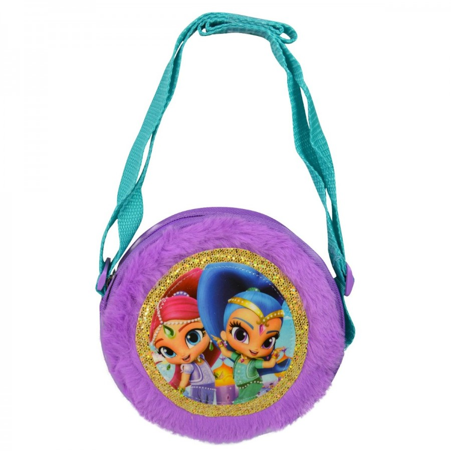 Shimmer & Shine Plush Round Round Crossbody Bag