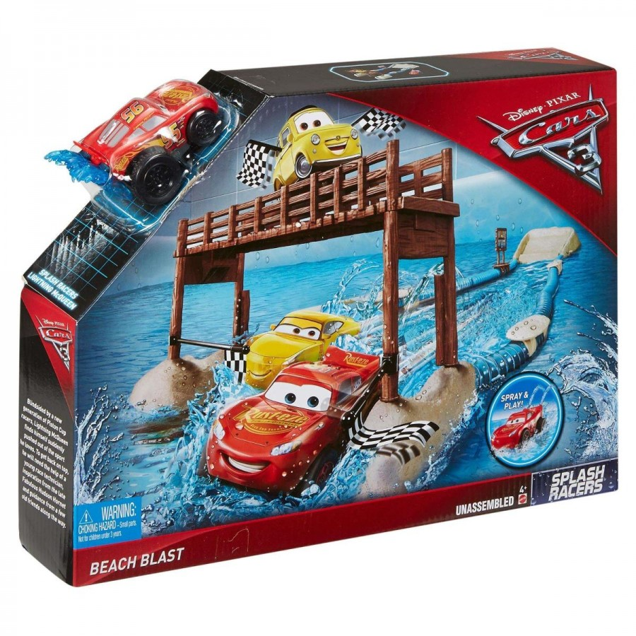 Disney Cars 3 Splash Racers Beach Blast Playset
