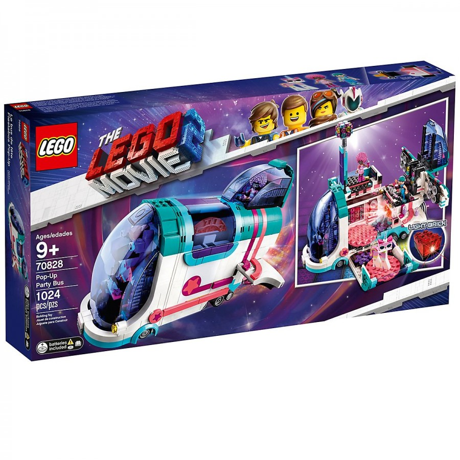 LEGO Movie 2 Pop-Up Party Bus