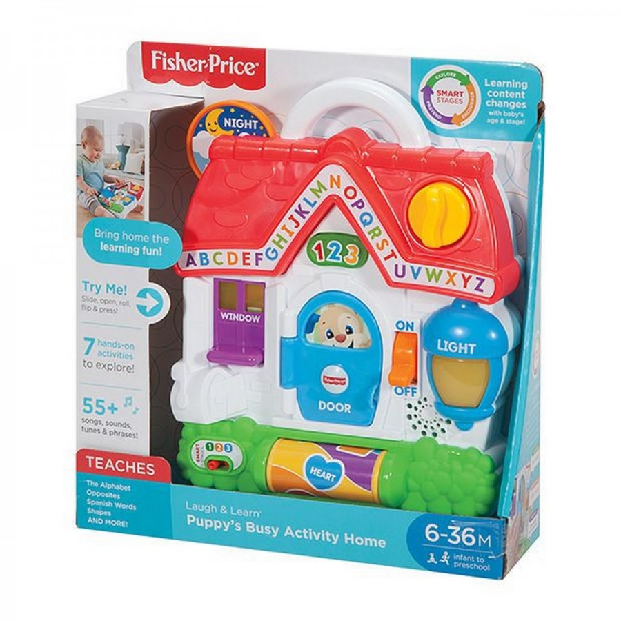 Fisher Price Laugh & Learn Puppys Busy Activity Home