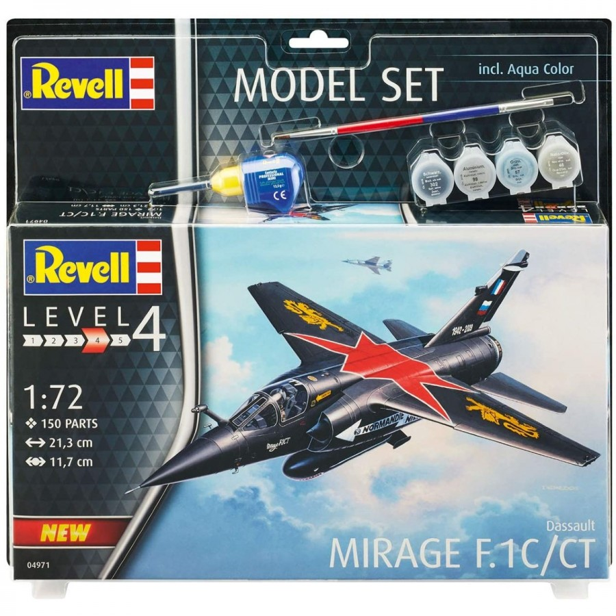 Revell Kit Gift Set 1:72 Dassault Mirage F1 C CT