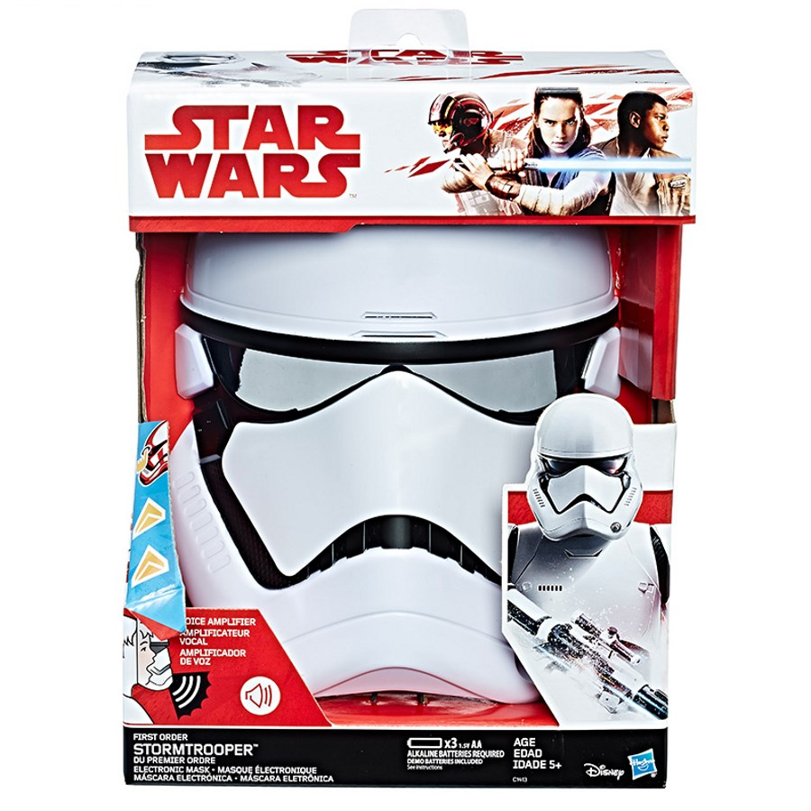 Star Wars VIII First Order Stormtrooper Electronic Mask