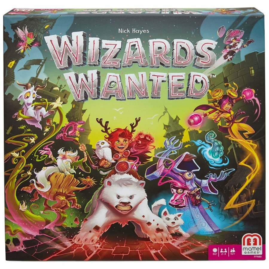 Wizards Wanted Strategy Game