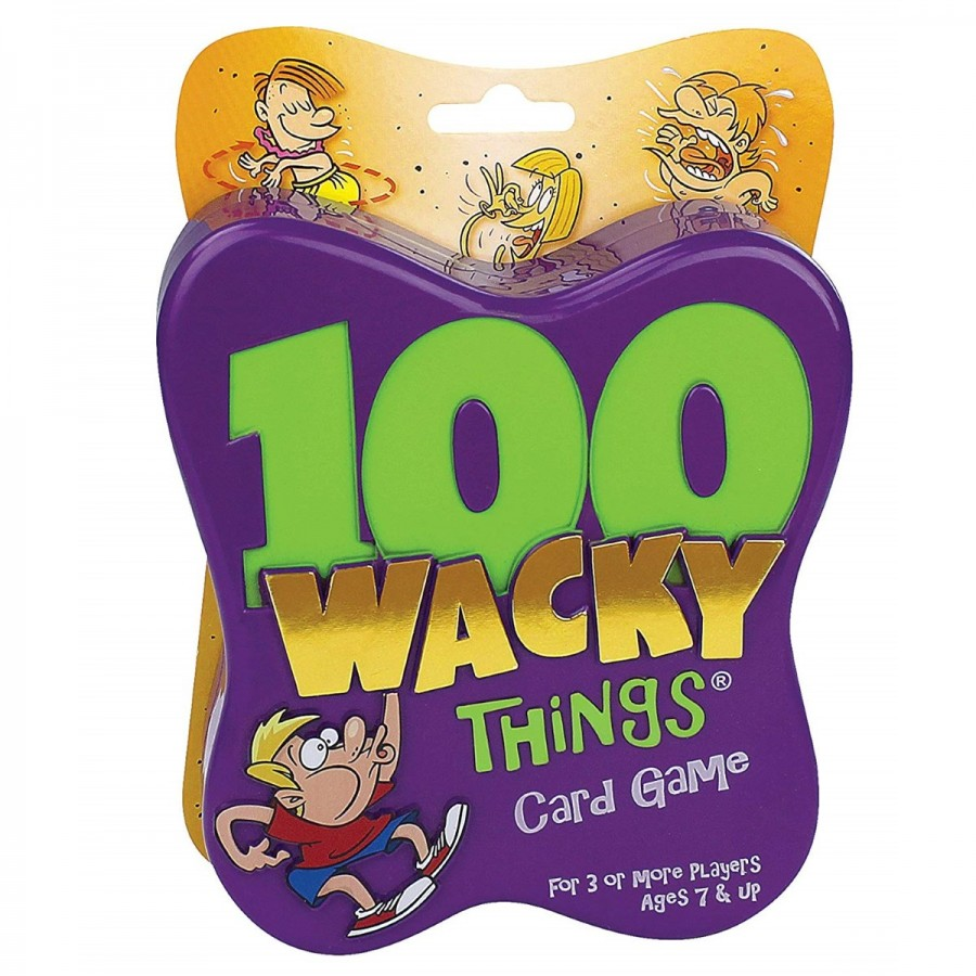100 Wacky Things Card Game