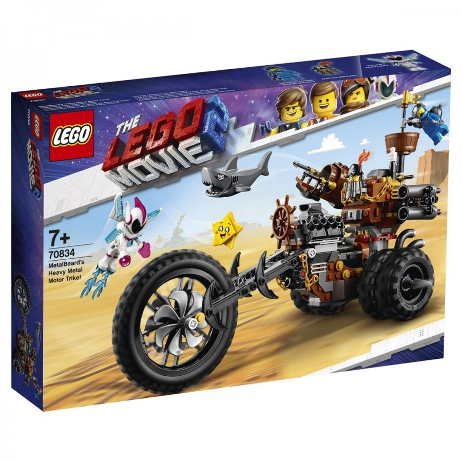LEGO Movie 2 MetalBeards Heavy Metal Motor Trike