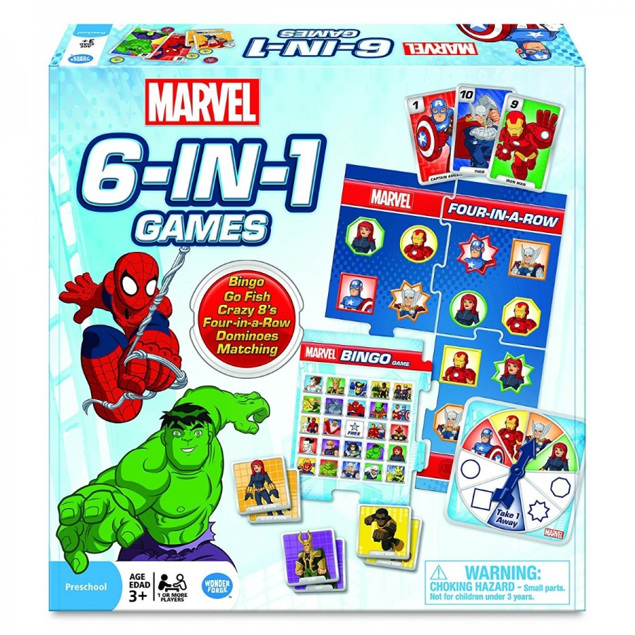 Marvel 6 in 1 Games