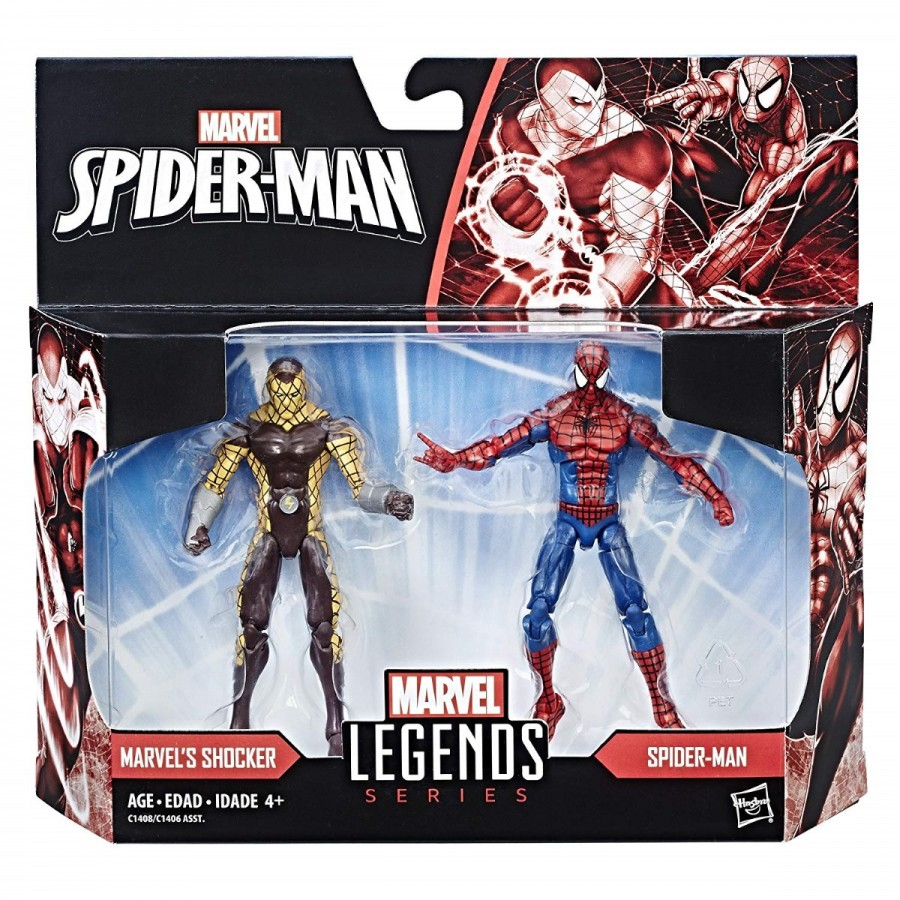 Spiderman Legends 3.75 Inch 2 Pack Assorted