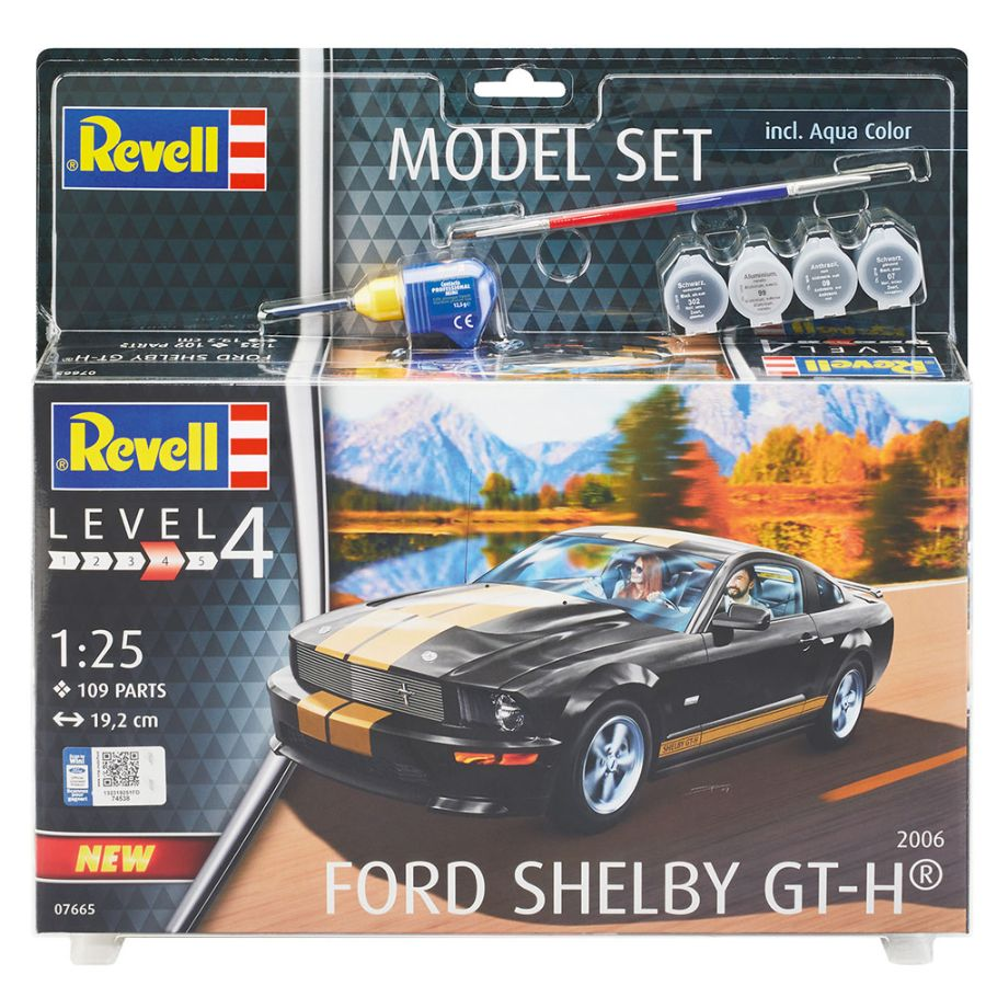 Revell Kit Gift Set 1:25 2006 Ford Shelby GT-H