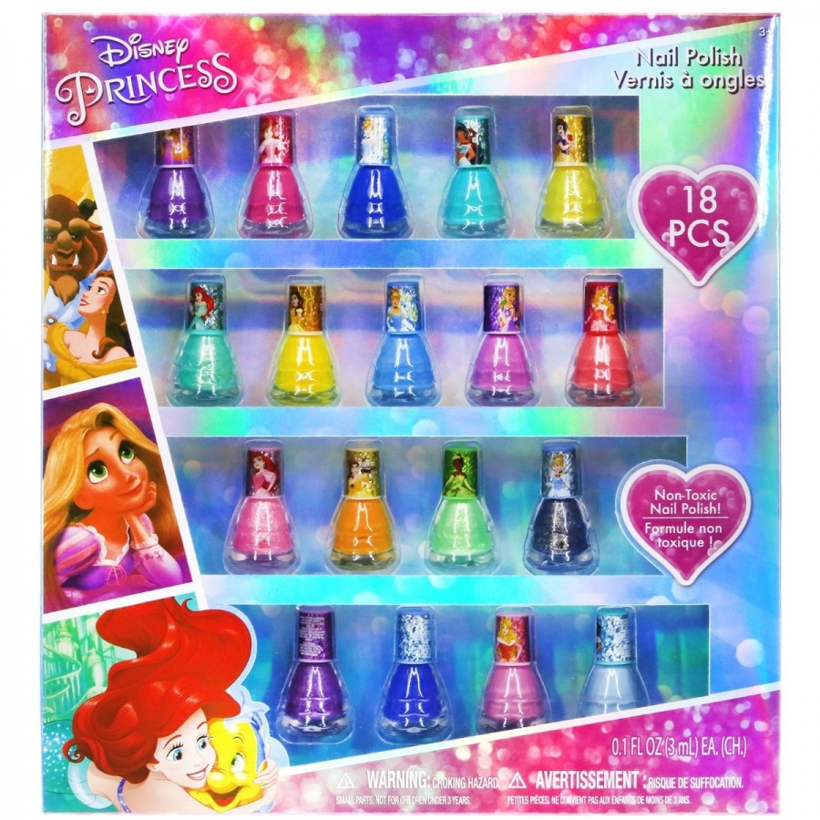 Disney Princess Nail Polish 18 Pack