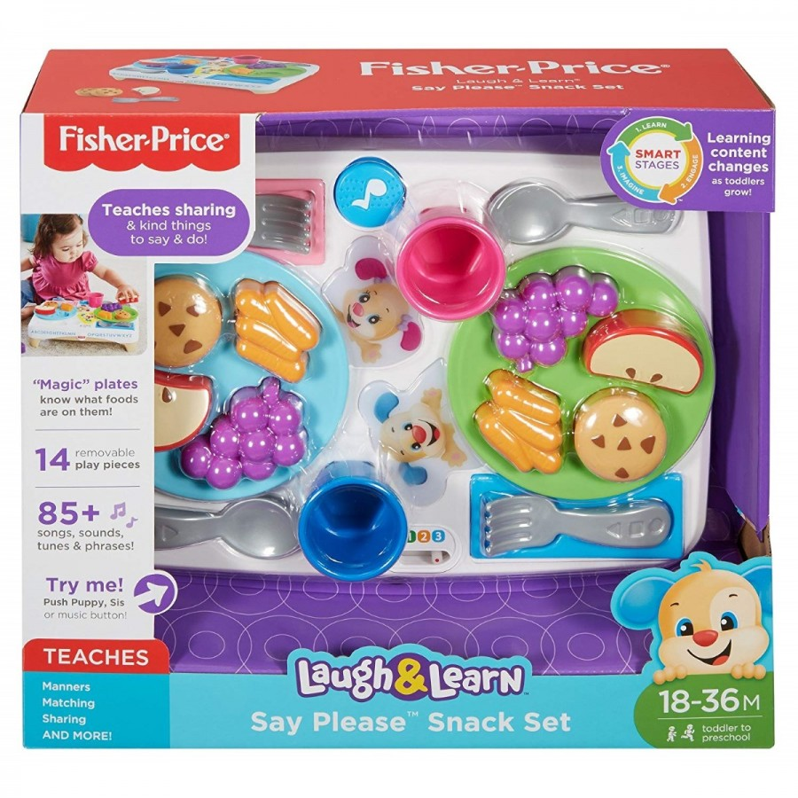 Fisher Price Laugh & Learn Say Please Snack Set