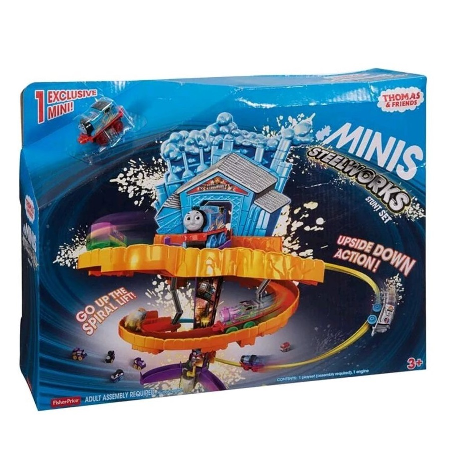 Thomas & Friends Mini Steelworks Stunt Set