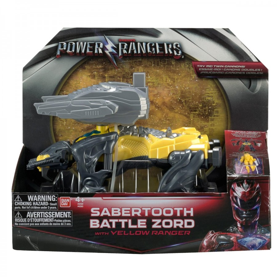 Power Rangers Battle Zord & Figure Assorted