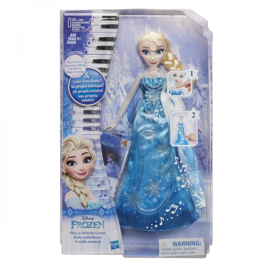 Disney Frozen Musical Dress Elsa