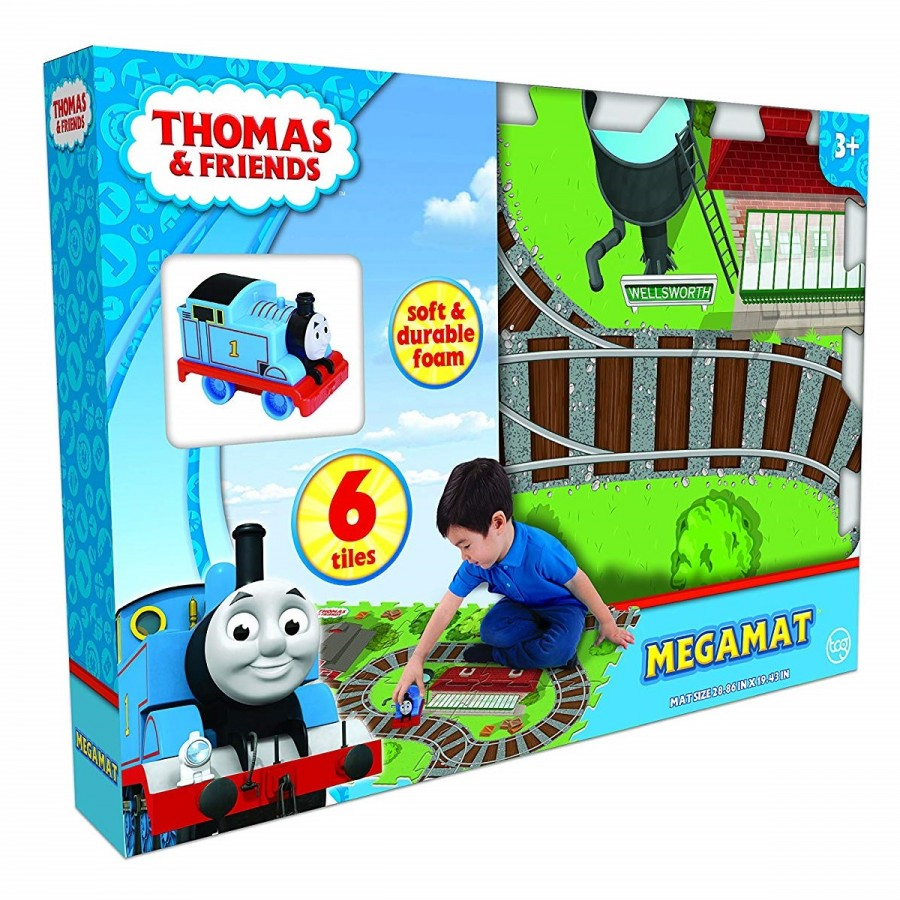 Thomas Mega Mat 6 Tiles & Vehicle