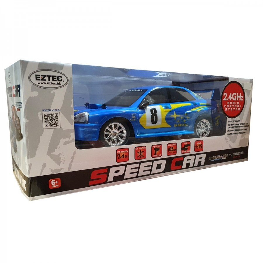 Eztec Radio Control Subaru WRC 12th Scale