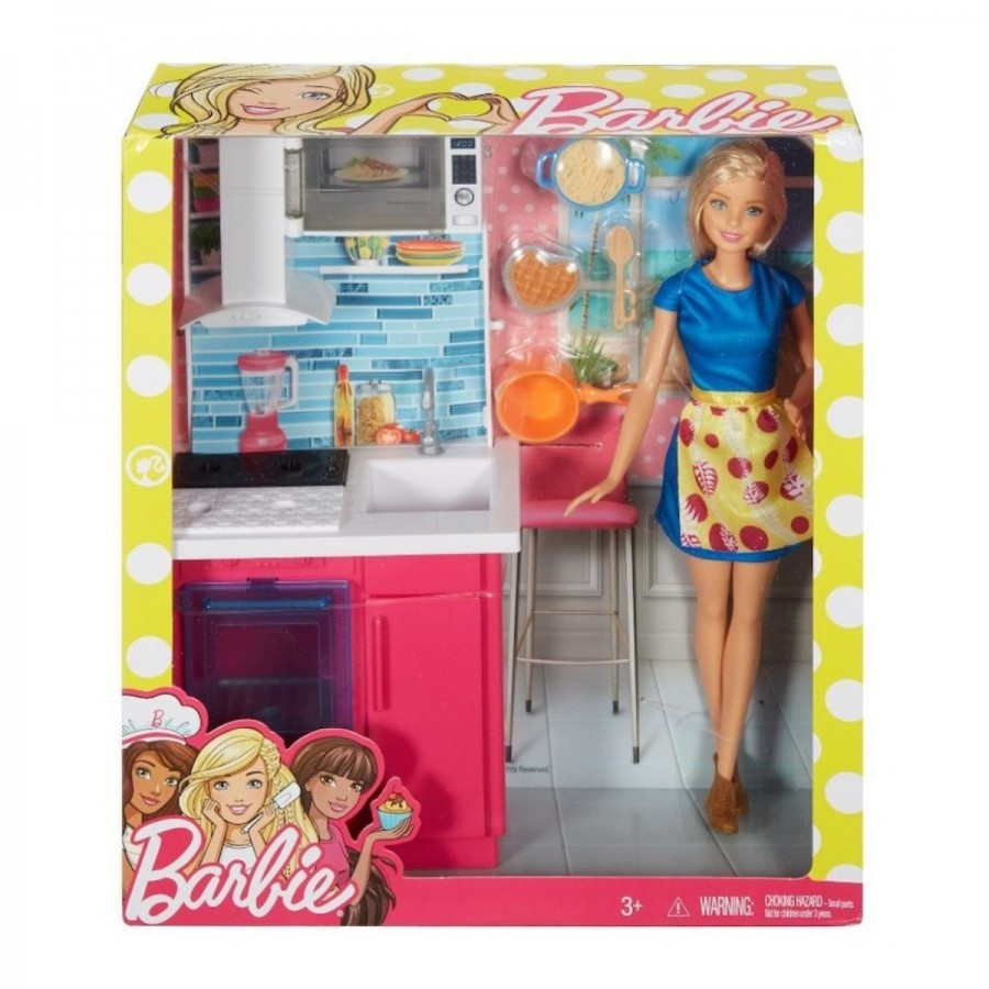 Barbie Room & Doll Assorted