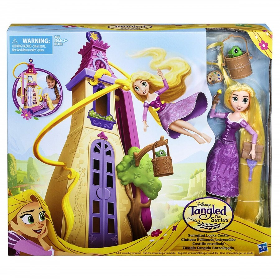 Disney Princess Tangled Swinging Locks Playset