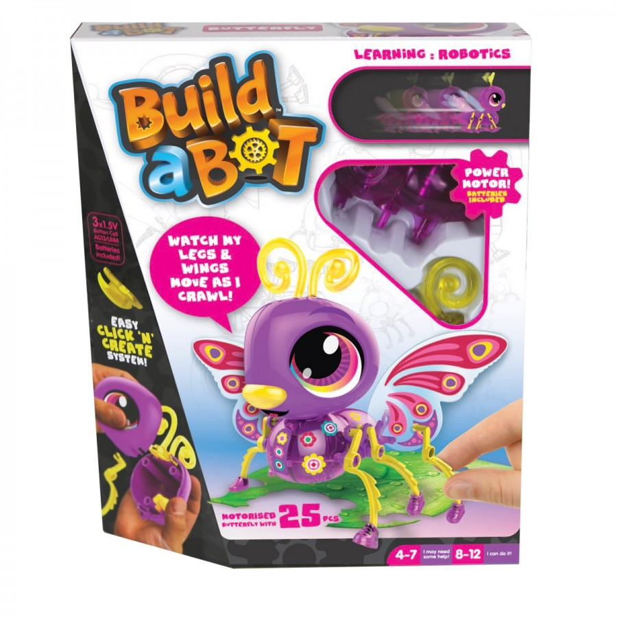 Build A Bot Bugs Butterfly