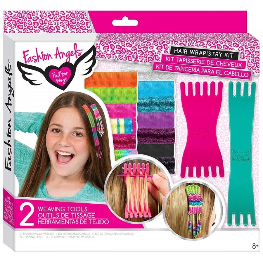 Fashion Angels Hair Wrapistry Kit