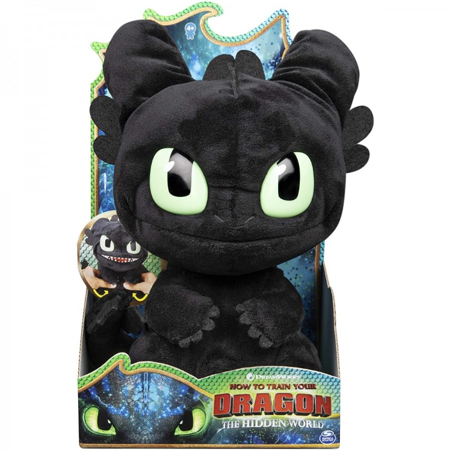 Dragons Feature Toothless Plush
