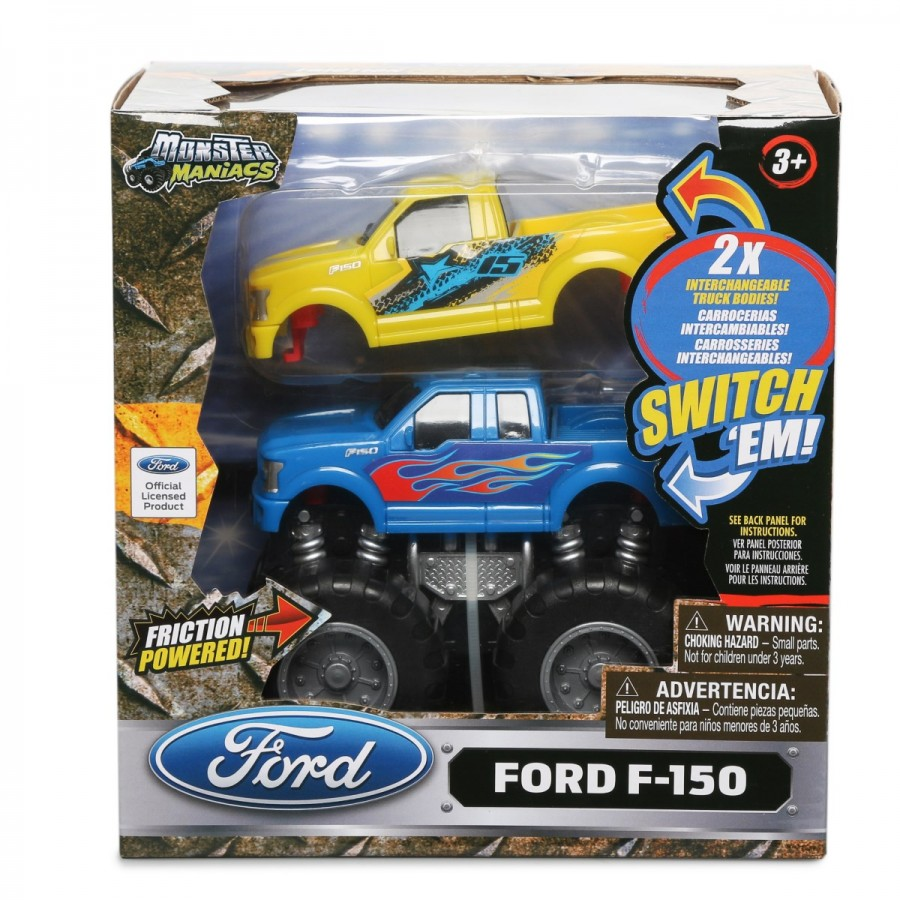 Friction Monster Truck Switch Em Assorted