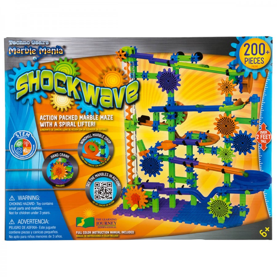Techno Gears Marble Mania Shockwave