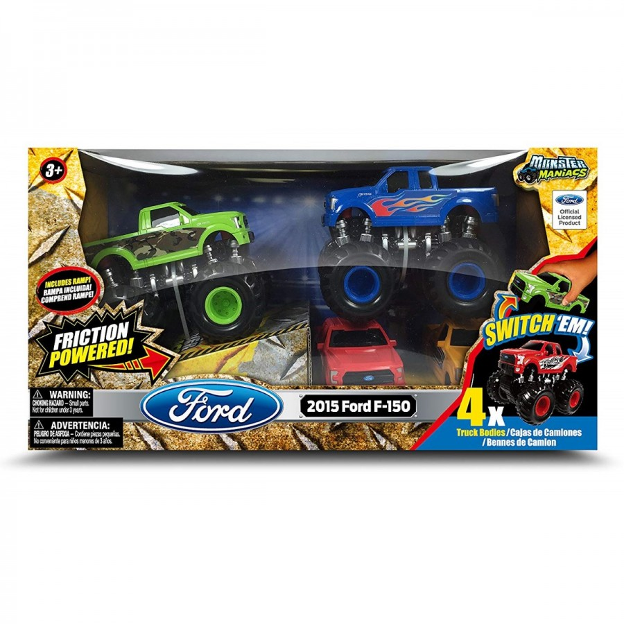 Friction Monster Truck Switch Em 2 Pack