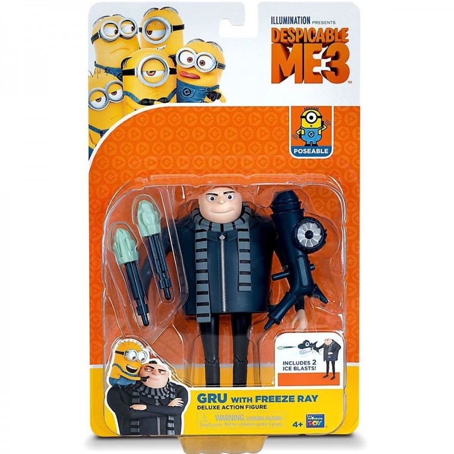 Despicable Me 3 Deluxe Action Figure Assorted