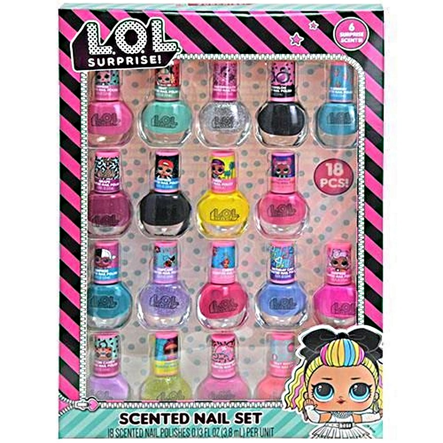 LOL Surprise Nail Polish 18 Pack