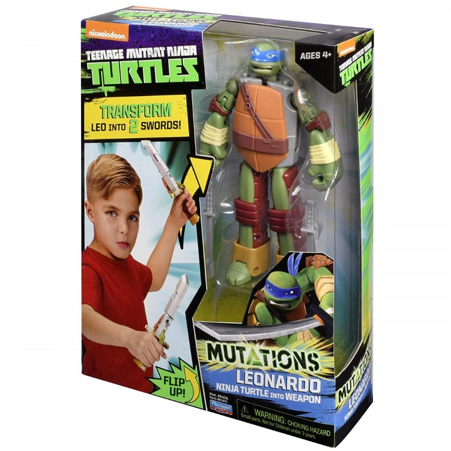 TMNT Mutations Figure To Weapon Assorted