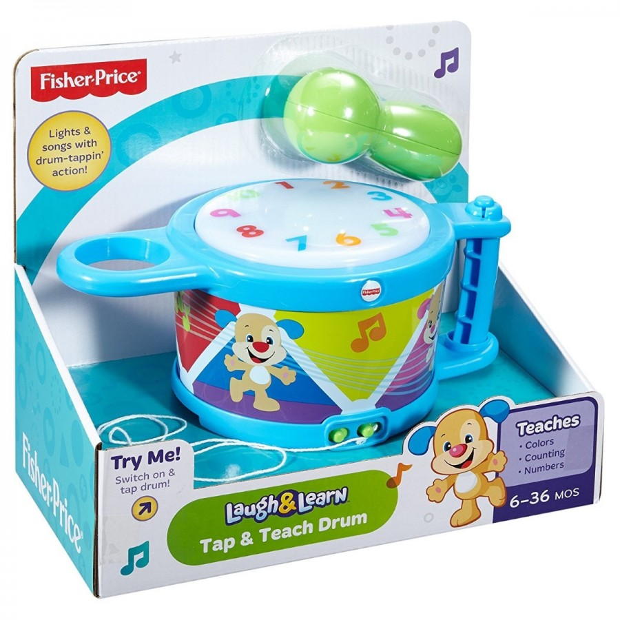 Fisher Price Laugh & Learn Tap & Teach Drum