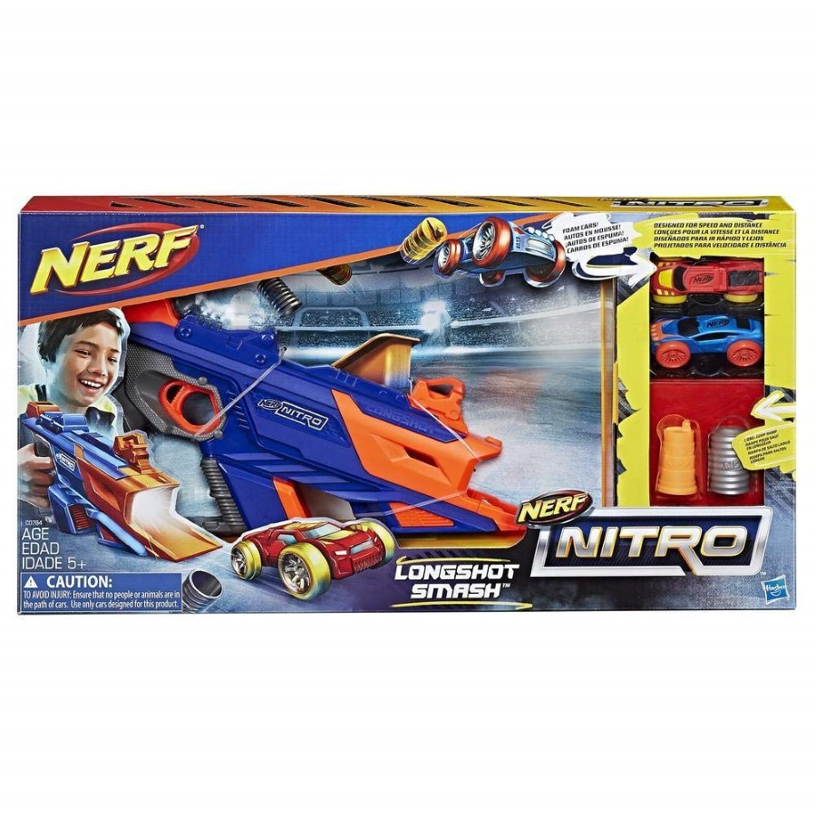 Nerf Nitro Long Shot Smash Deluxe Set