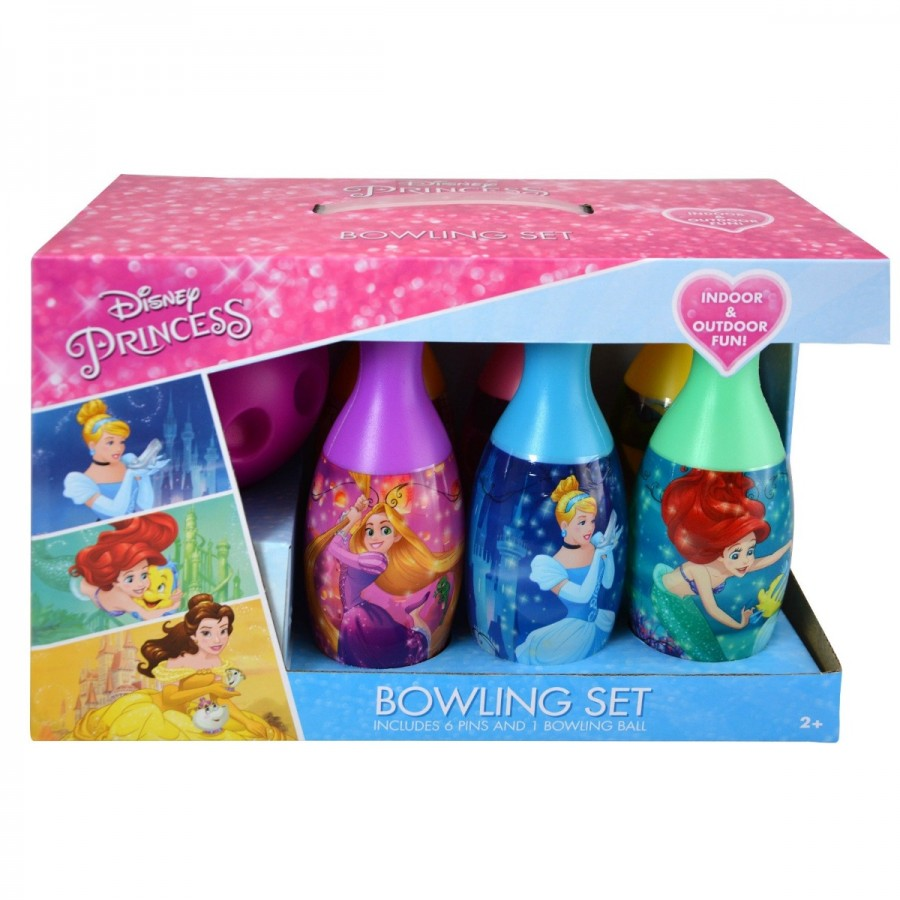 Disney Pincess Bowling Set