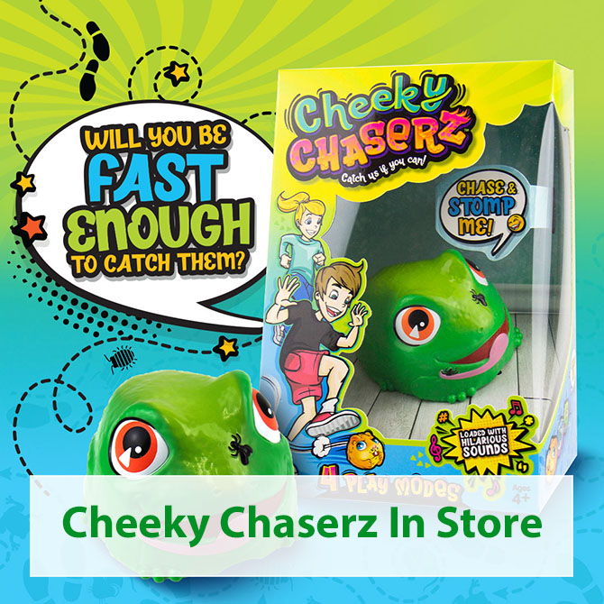 Cheeky Chaserz In Store