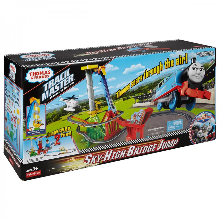 Thomas Track Master Sky High Bridge Jump