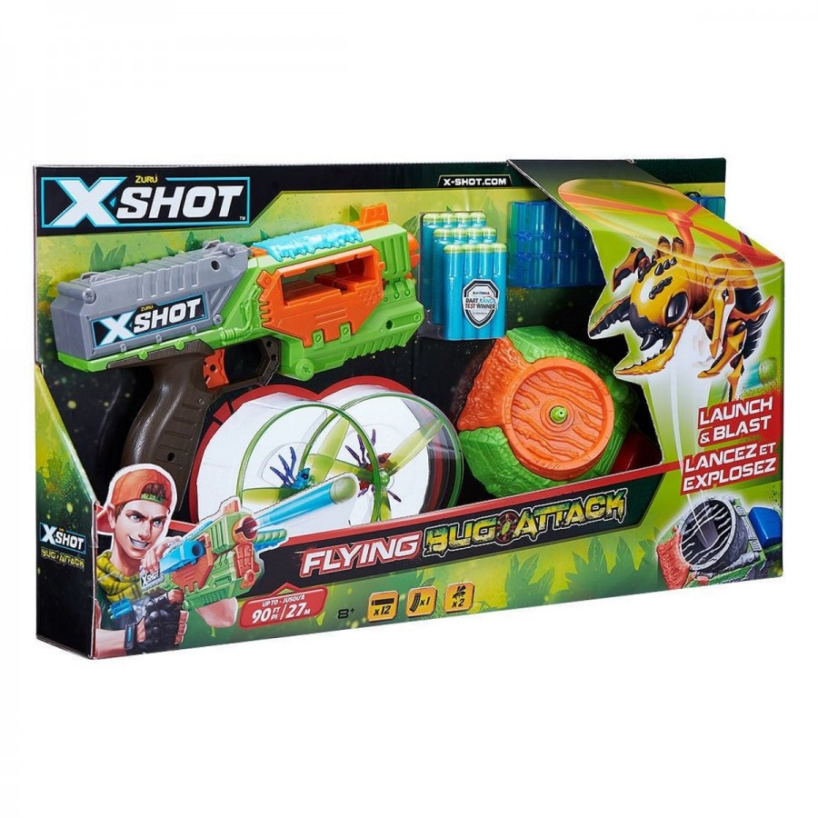 XSHOT Bug Attack Flying Bugs Launcher & Bugs