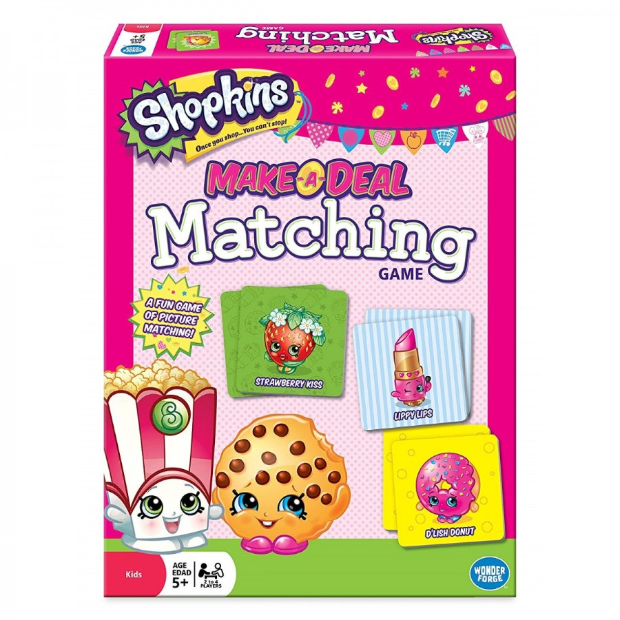 Shopkins Make A Deal Matching Game