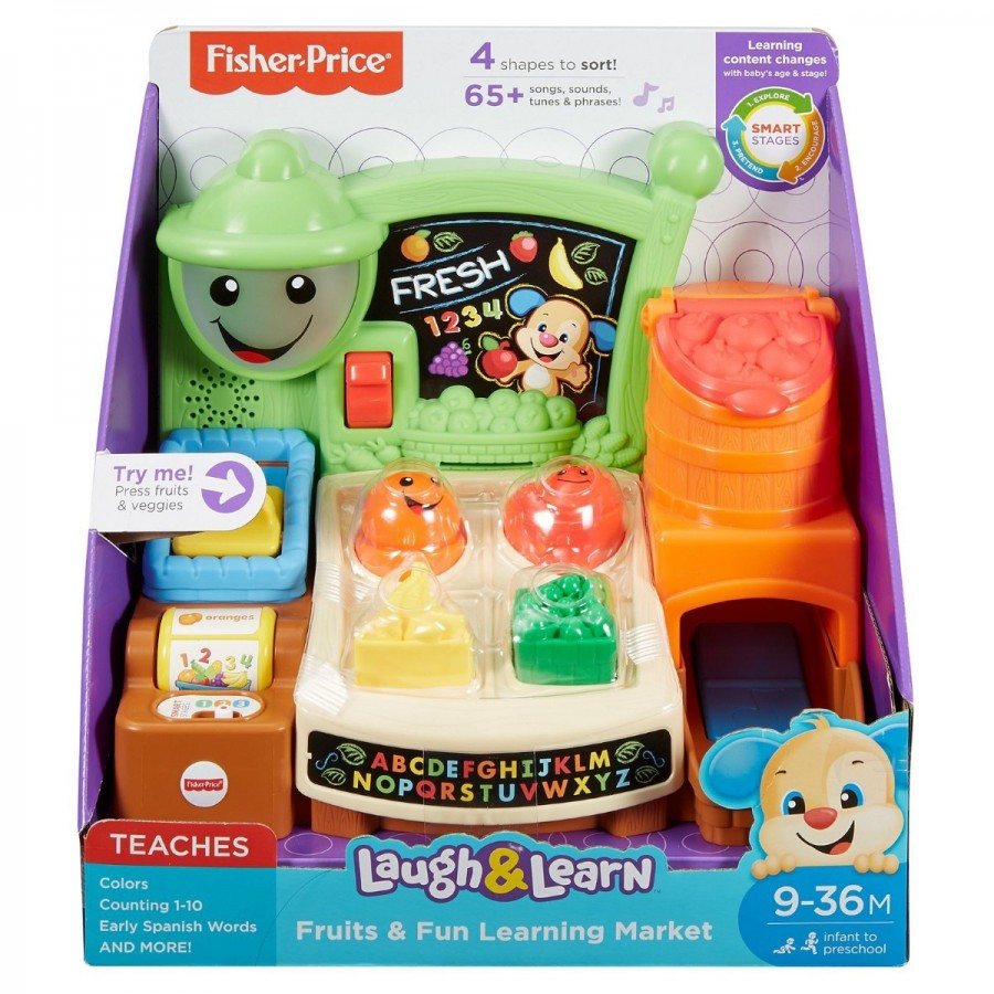 Fisher-Price Laugh & Learn Fruits & Fun Learning Market
