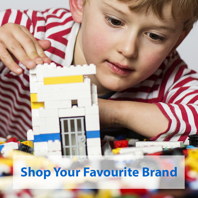 Shop Your Favourite Toy Brand