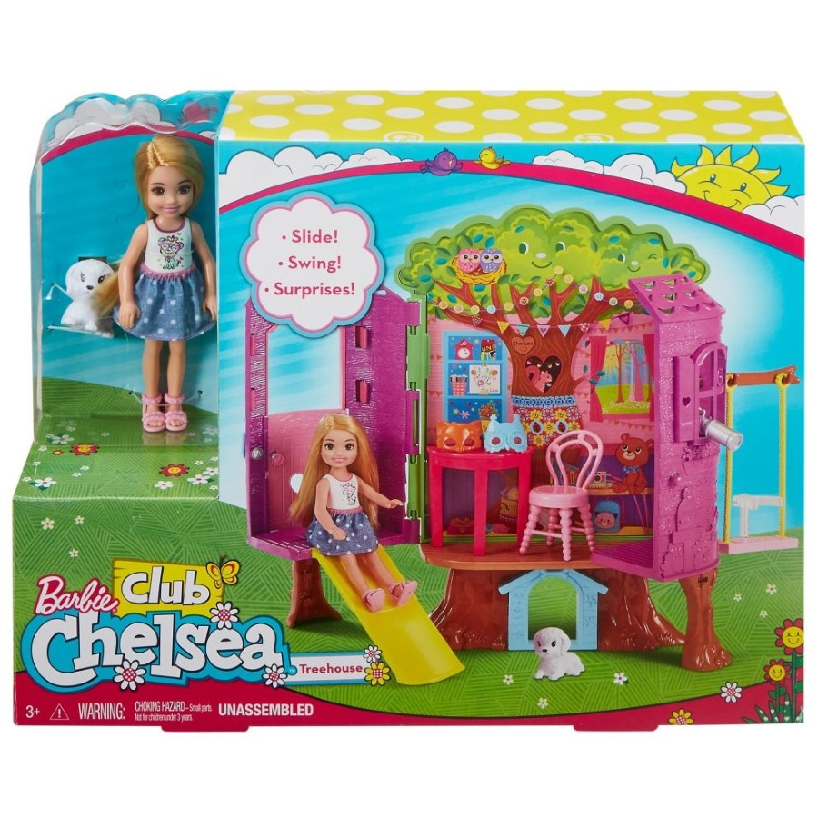 Barbie Chelsea Club Treehouse