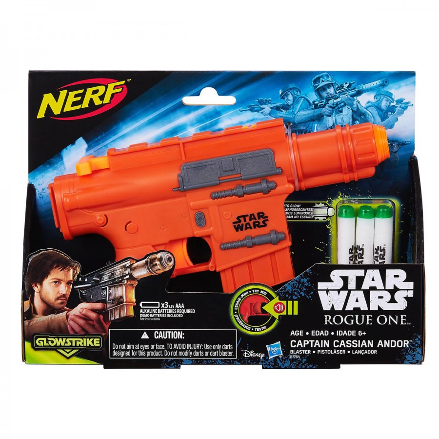 Star Wars Captain Cassian Andor Blaster
