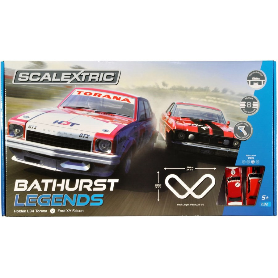 Scalextric Slot Car Set Bathurst Legends