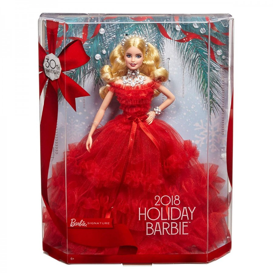 Barbie Holiday Doll 2018