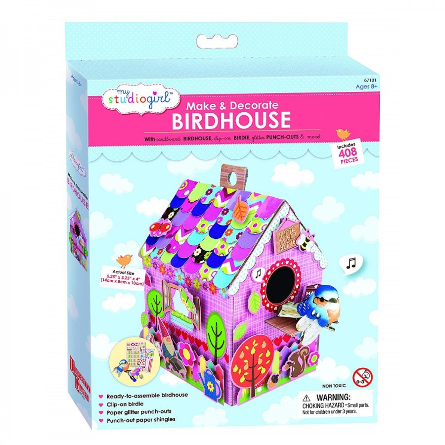 My Studio Girl Make & Decorate Birdhouse