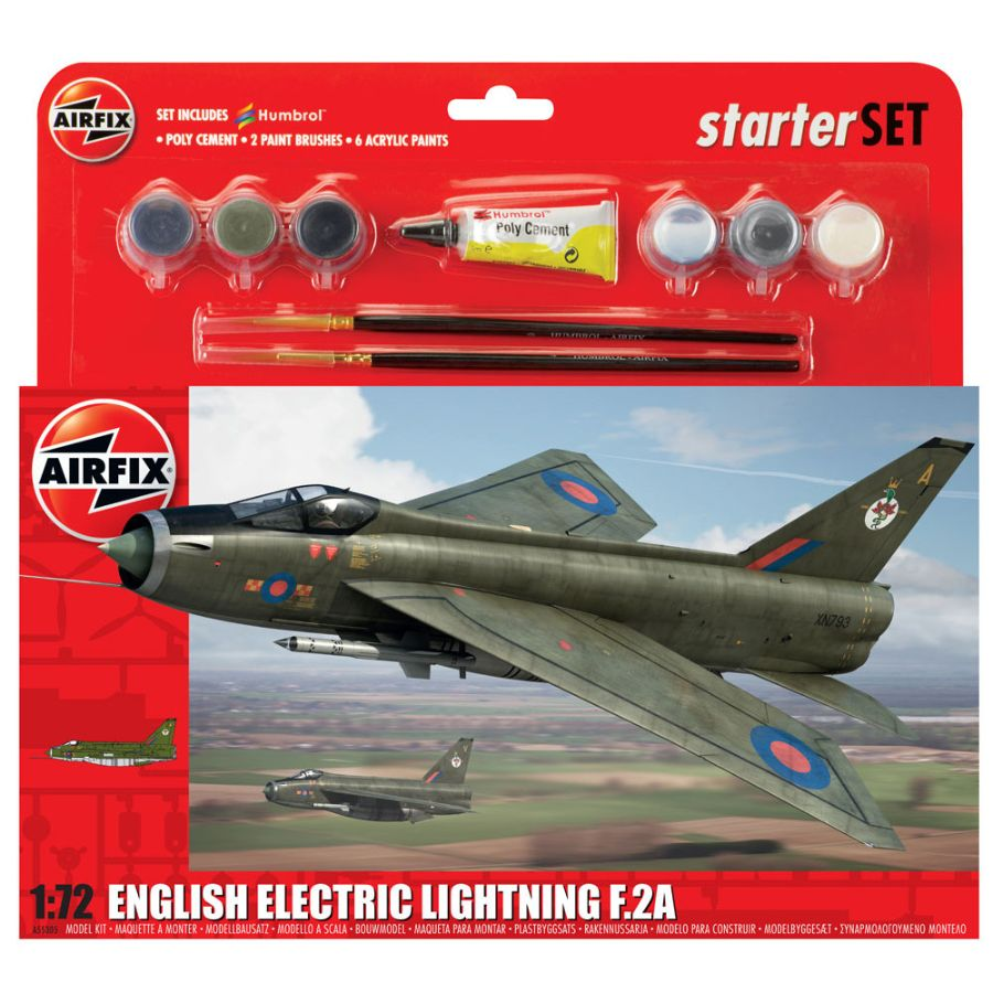 Airfix Starter Kit 1:72 English Electric Lightning F2A