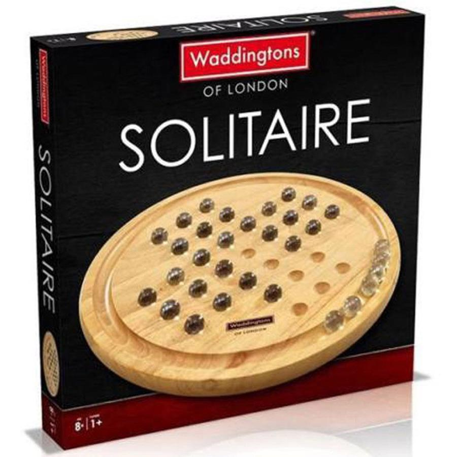 Waddingtons Wooden Solitaire