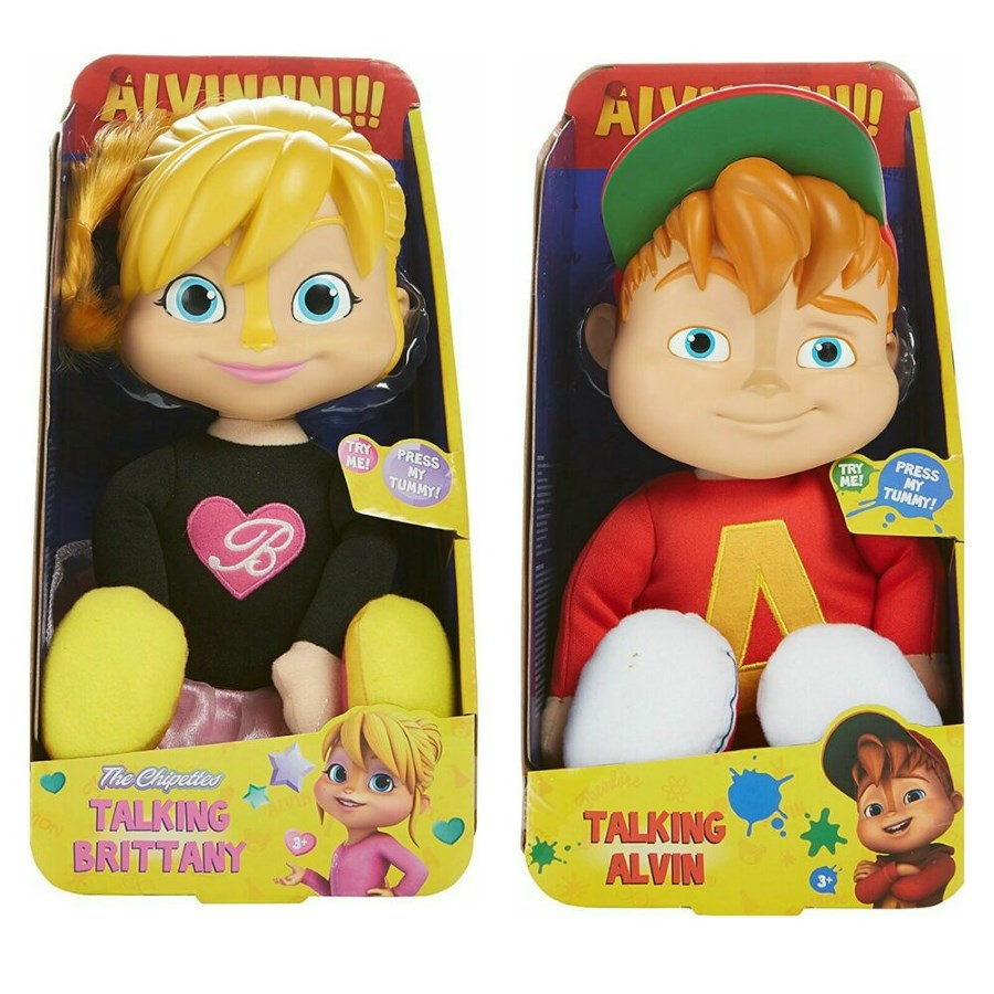 Alvinnn & Chipmunks Talking Plush Assorted