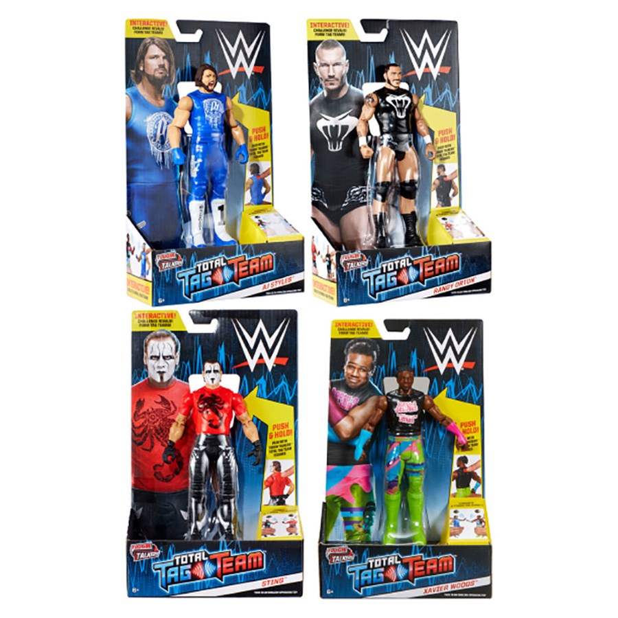 WWE Total Tag Team Figure Assorted