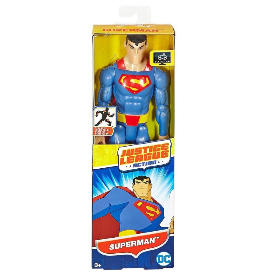 Justice League Action Superman Figure