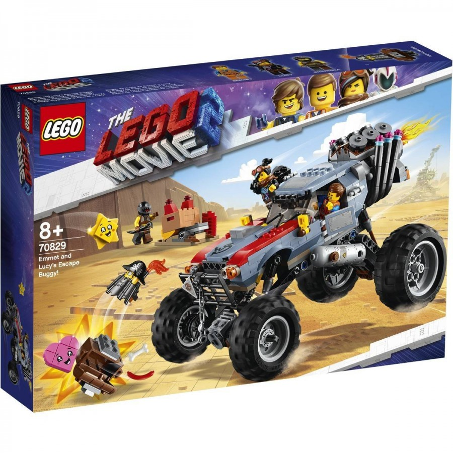 LEGO Movie 2 Emmet & Lucys Escape Buggy